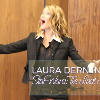 Laura Dern in Star Wars: The Last Jedi – Interview