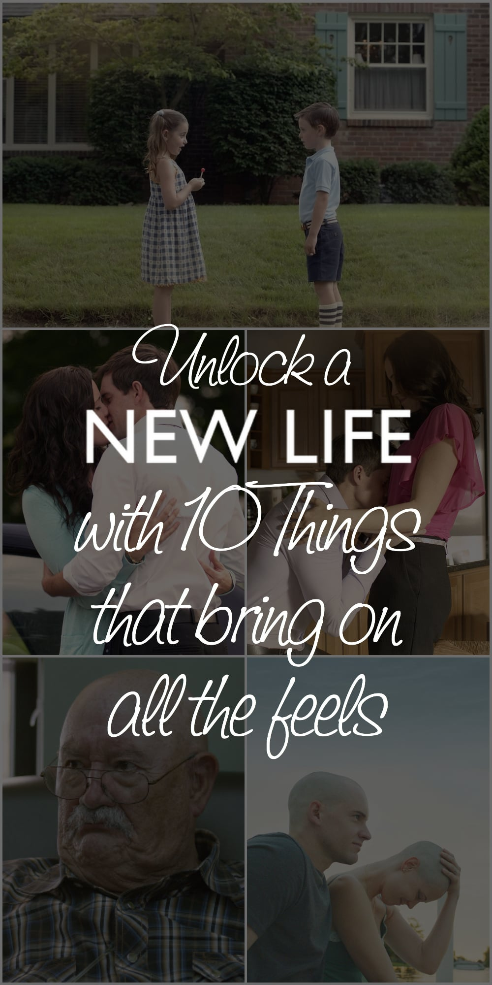 Can't wait to watch #NewLifeMovie and feel every bit of what it means to be alive. #AllTheFeels