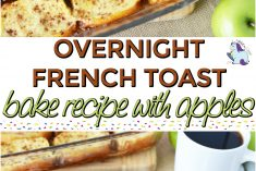 Overnight French Toast Bake Recipe with Apples