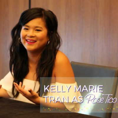 Kelly Marie Tran Cries During Star Wars: The Last Jedi Interview