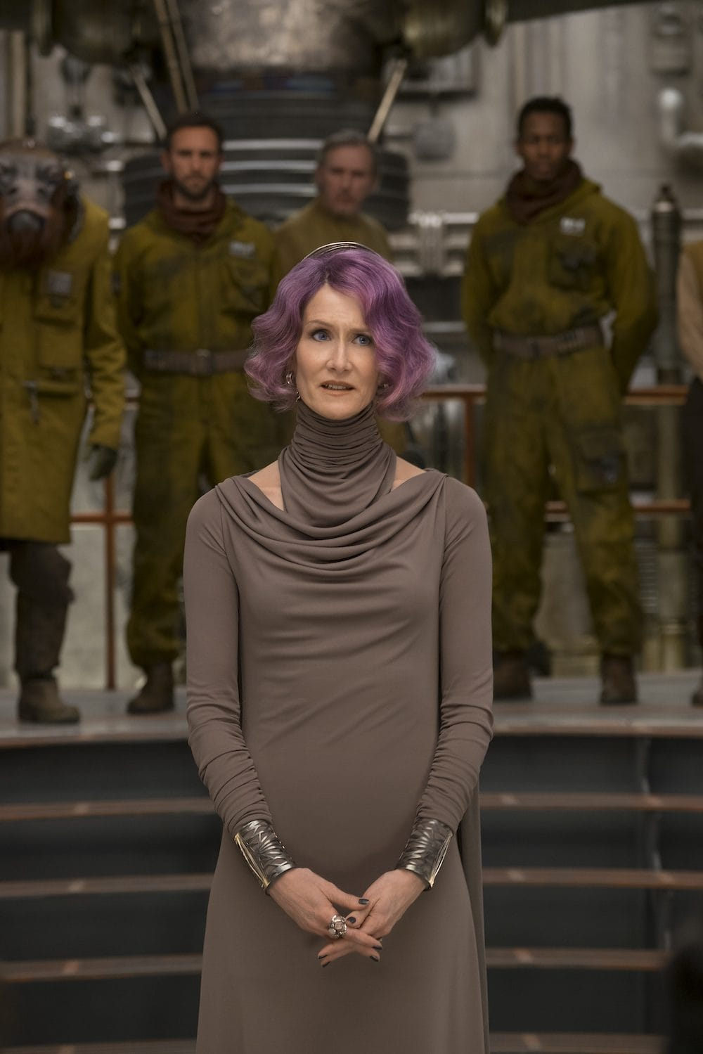 Laura Dern in Star Wars: The Last Jedi #TheLastJediEvent
