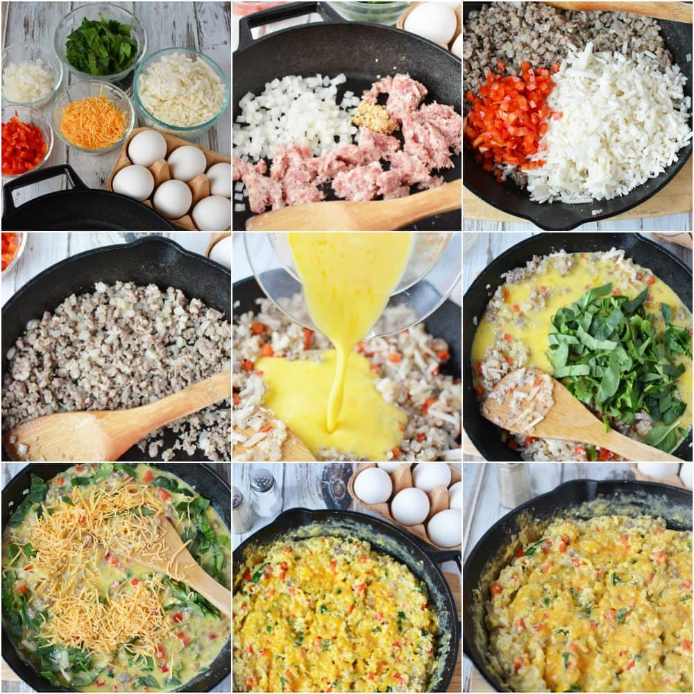 Tasty and Filling Breakfast Scramble Recipe