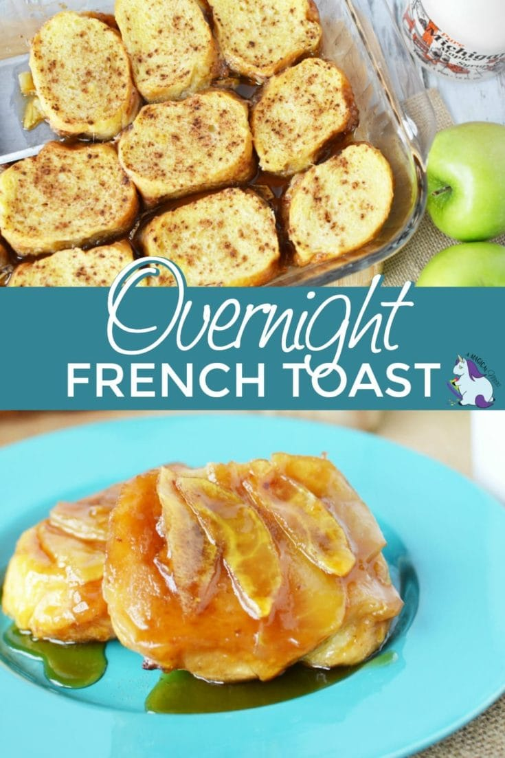 French toast bake with apples - Overnight French toast