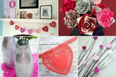 28+ DIY Valentine's Day Decorations to Make