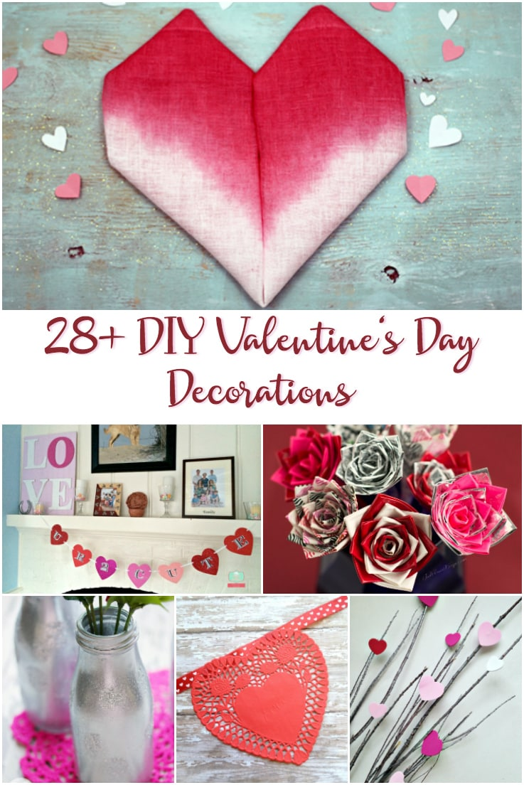 Schön 28+ DIY Valentineu0027s Day Decorations To Make