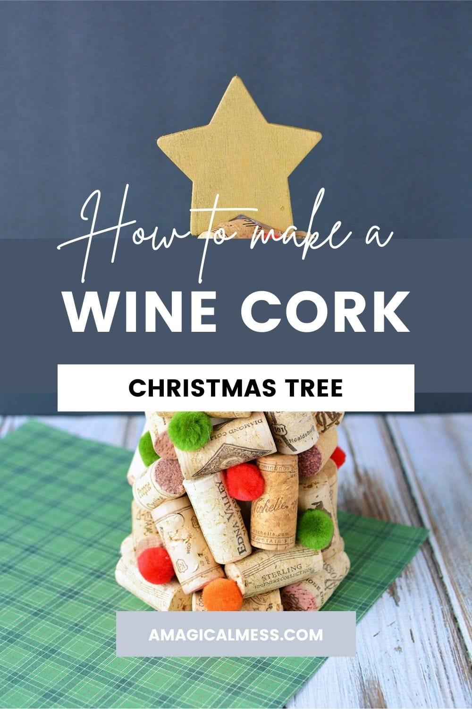 Wine corks Christmas Tree
