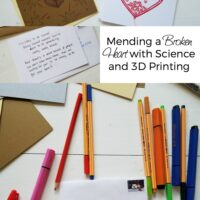 Mending a Broken Heart with Science and 3D Printing #BL4DActsofHeart #ad