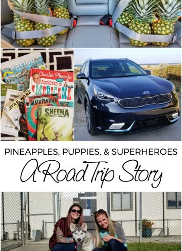 Kia Niro PHEV Road Trip - Full of Pineapples, Puppies, and Superheroes #NiroRoadTrip #KiaPartner
