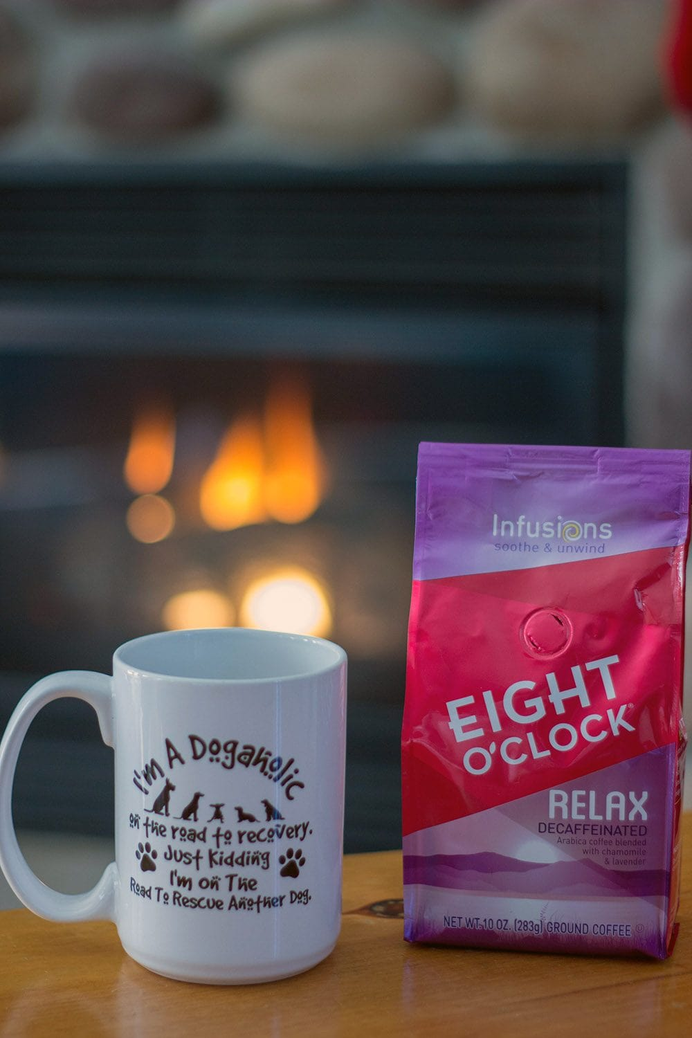 Enjoy Relax Decaffeinated when you want a hot cup of coffee later in the day