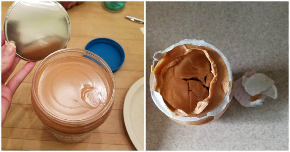 The peanut butter seal struggle.
