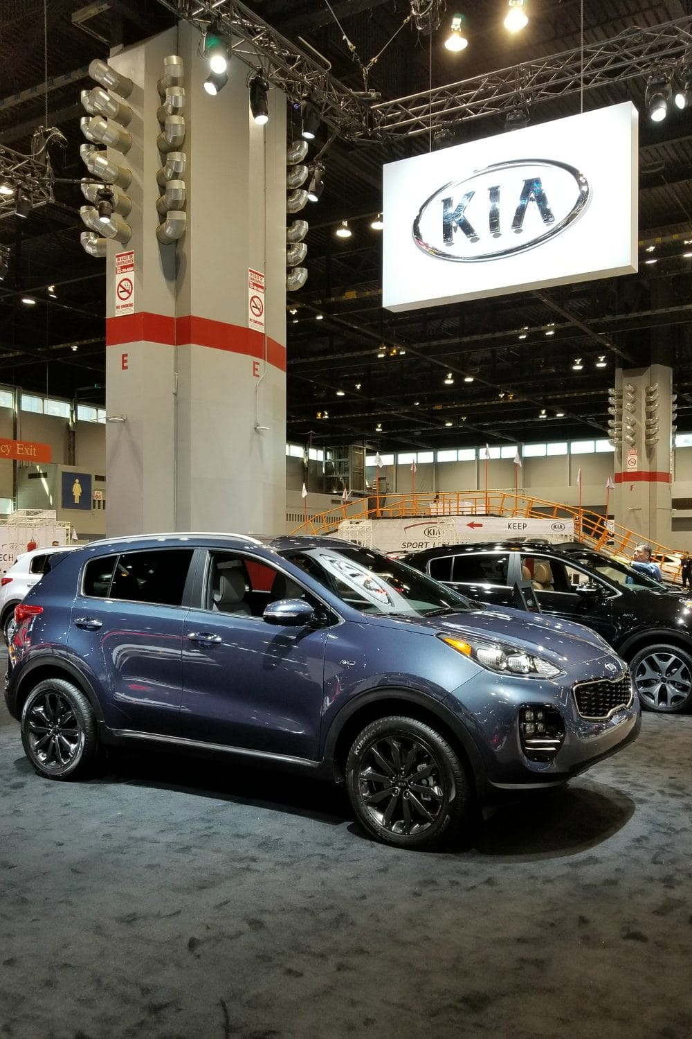 kia at the chicago auto show a story of quality a magical mess. Black Bedroom Furniture Sets. Home Design Ideas
