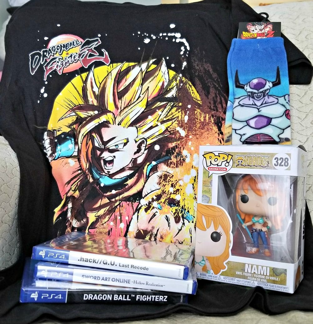 Anime Month + Gamestop = One Awesome Giveaway #WeLoveAnimeMonth AD