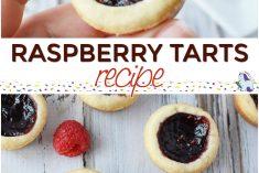Easy Raspberry Tarts Recipe - Bite Sized Buttery Crunch