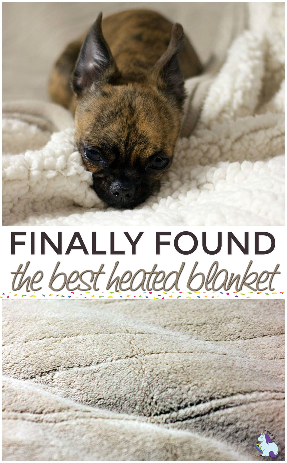 I Finally Found the Best Heated Blanket Ever