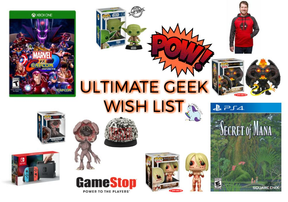 A Geek Wish List for the Ages | A Magical Mess