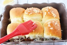 Hawaiian BBQ Chicken Sliders Recipe