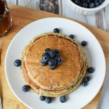 Best Protein Powder Pancakes - Unforgettable Lemon Blueberry