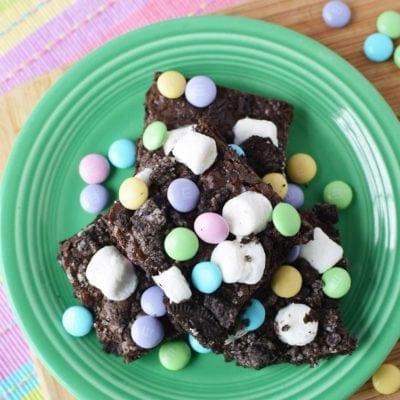 Chocolaty Chocolate Marshmallow Brownies Recipe