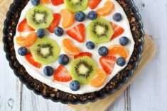 Dessert fruit pizza recipe