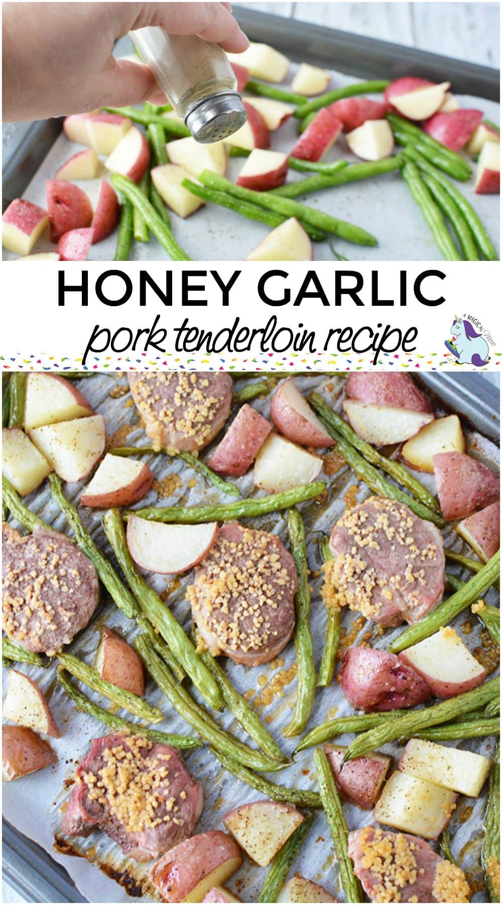 Honey Garlic Pork Tenderloin Sheet Pan Recipe
