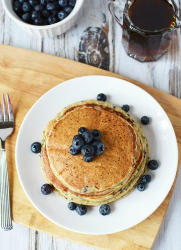 Best Protein Powder Pancakes - Unforgettable Lemon Blueberry