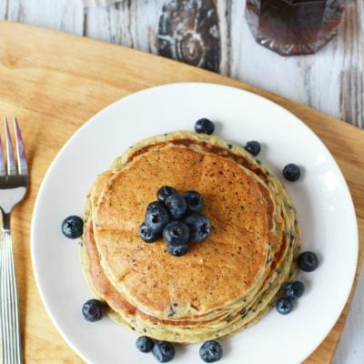 Best Protein Powder Pancakes – Lemon Blueberry