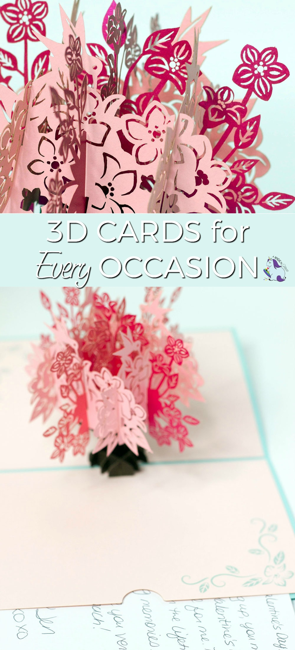 Smile-Inducing 3D Cards for Every Occasion #Love #GiftIdeas #cards #popupcards #uniquegift #mothersday