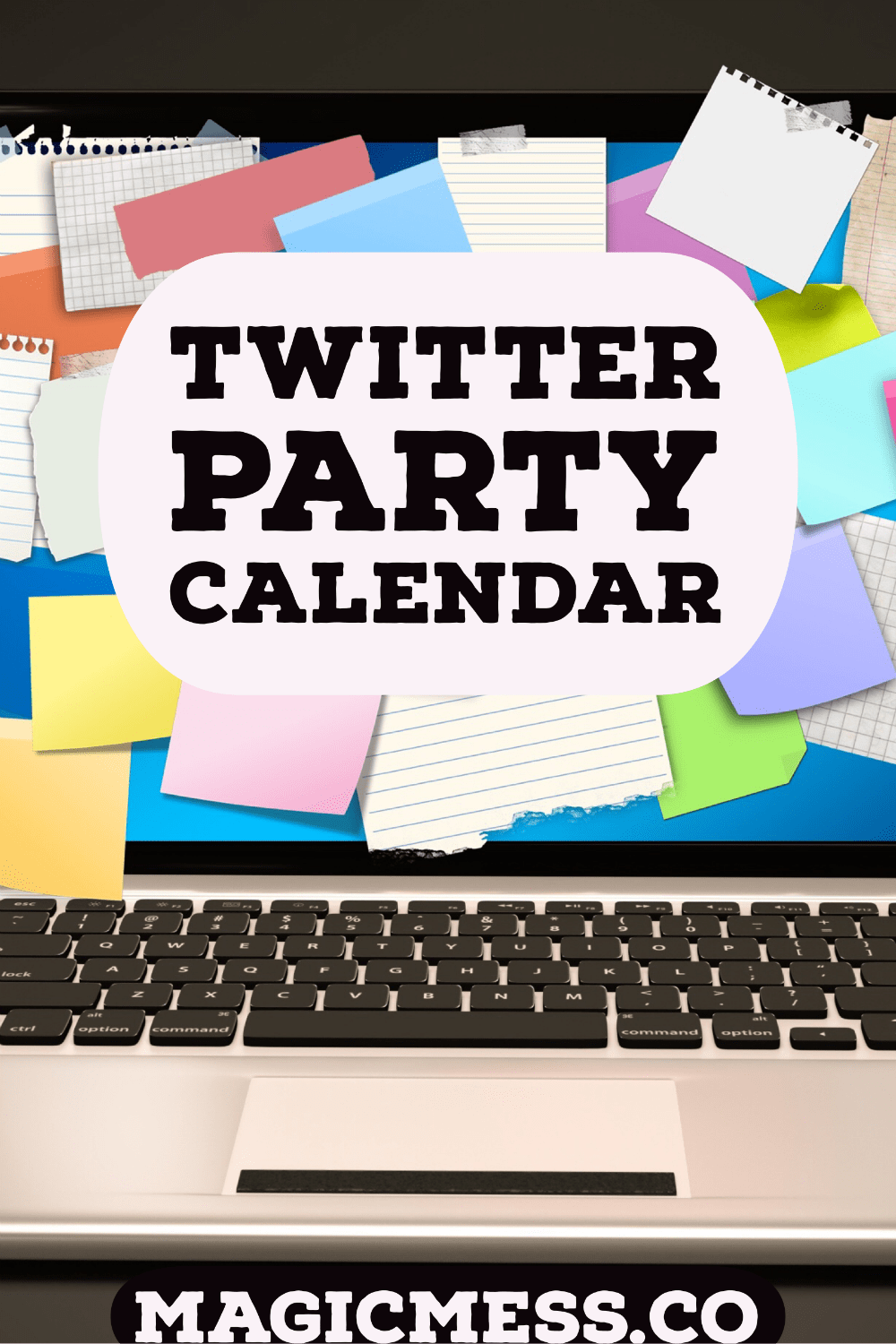 twitter party calender