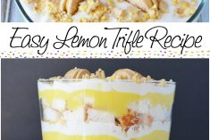 Light and Luscious Easy Lemon Trifle Recipe