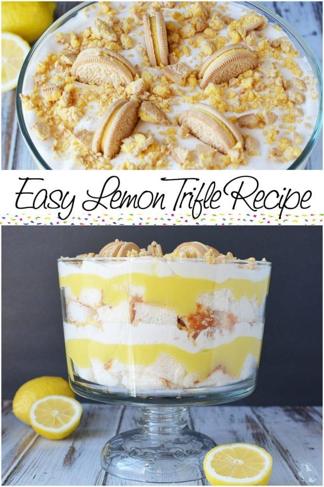 Light and Luscious Easy Lemon Trifle Recipe