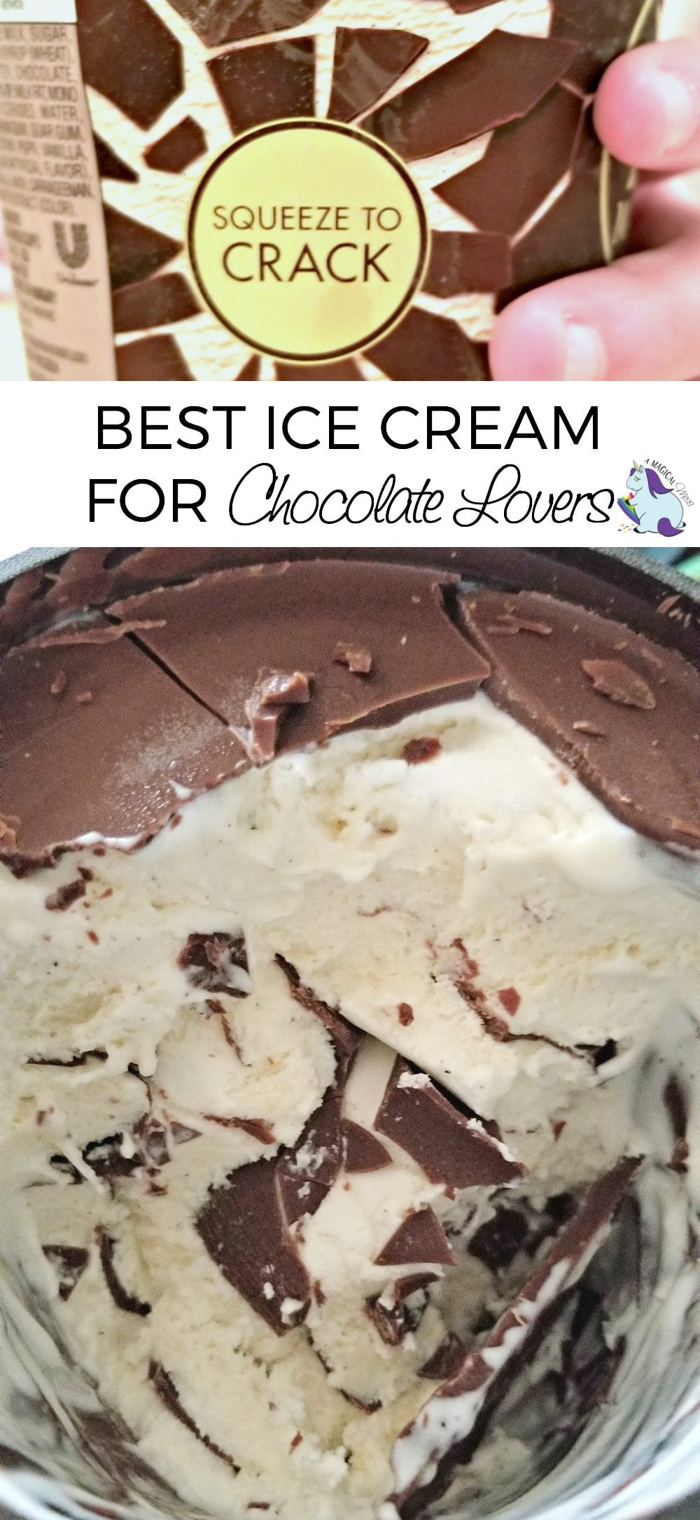Magnum Ice Cream - The Best Ice Cream for Chocolate Lovers #BreakintoMagnumTubs 
