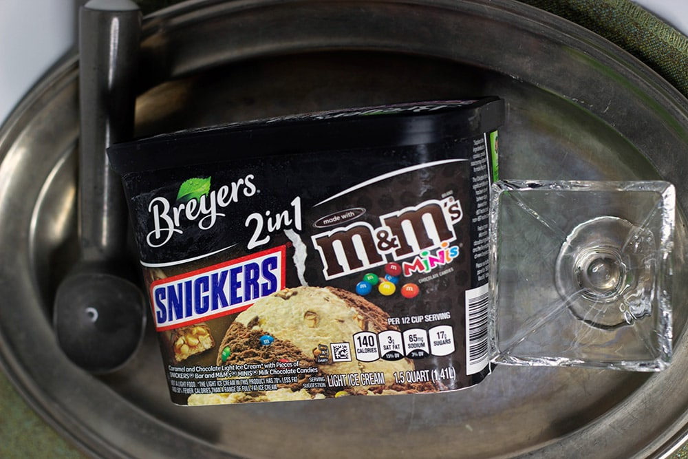 Breyer's 2-in-1 Snickers and M&M's
