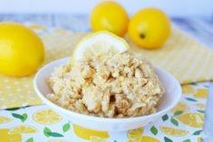 Lemon cookie dough recipe