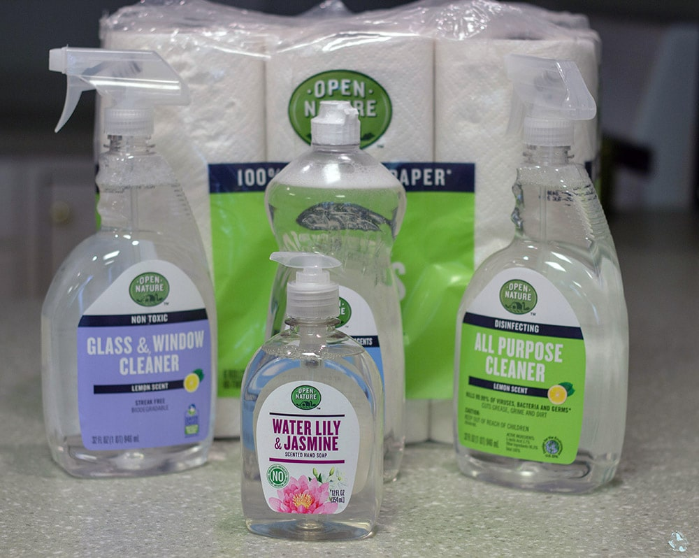 Open Nature Spring Cleaning Supplies