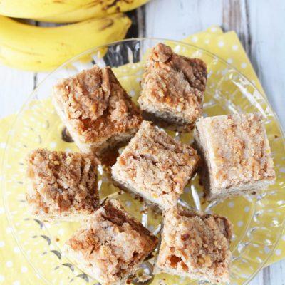 Banana Nut Coffee Cake Recipe