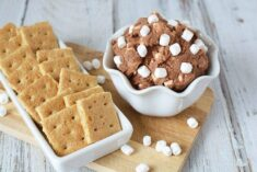 Chocolatey S'more Eggless Cookie Dough Recipe