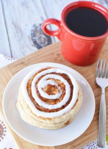 Muscle Building Foods – Scrumptious Cinnamon Roll Pancakes