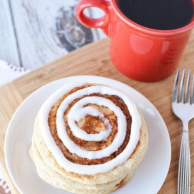 Muscle Building Foods – Scrumptious Cinnamon Roll Pancakes