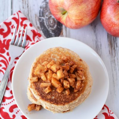 Luscious Apple Cinnamon Pancakes