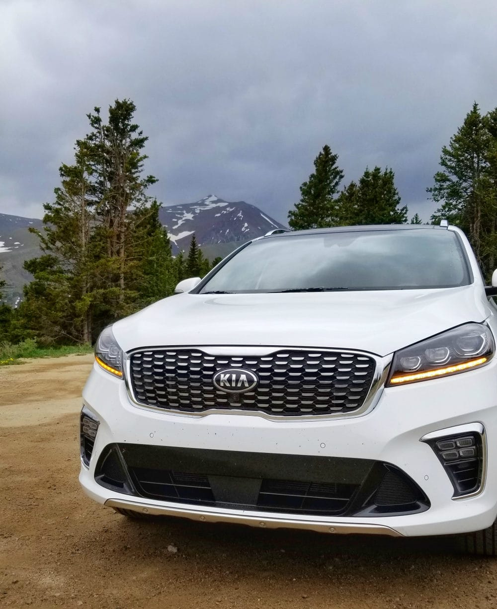 Tackling mountains in the 2019 Kia Sorento. It's the best midsize SUV for the money!