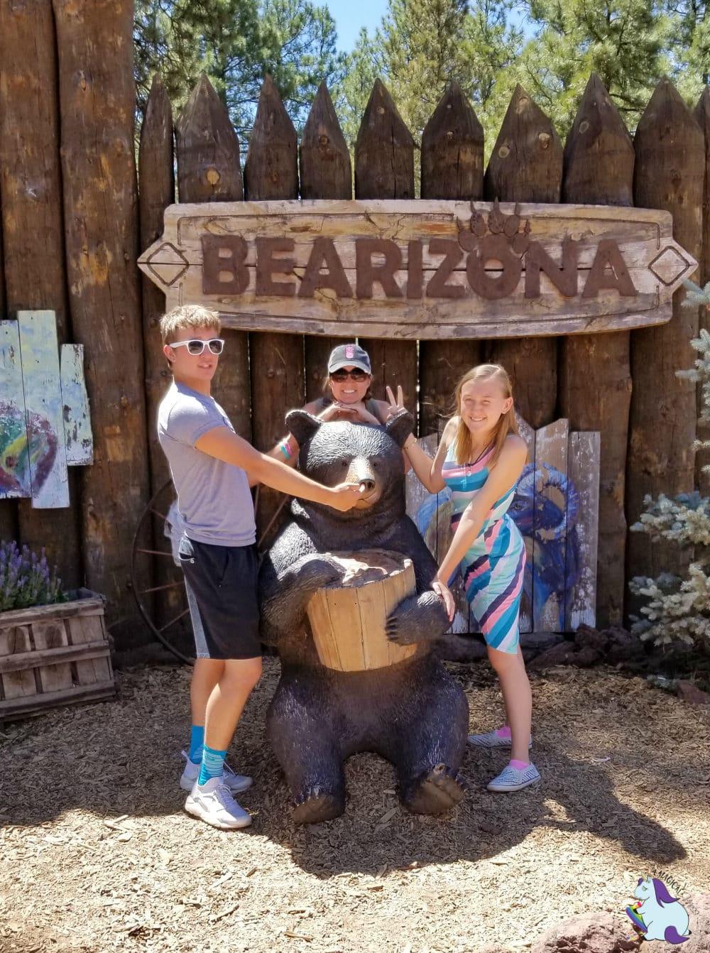 Bearizona is a drive thru zoo just half an hour from Little America Hotel in Flagstaff, AZ