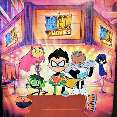 Teen Titans GO To The Movies Screening