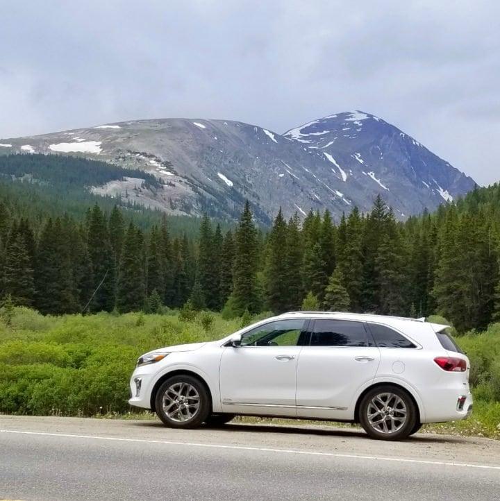 Driving the 2019 Kia Sorento through the mountains of Colorado!