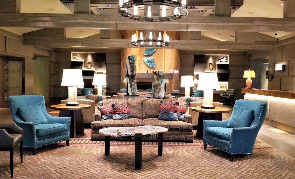 Little America Hotel Lobby in Flagstaff, Arizona