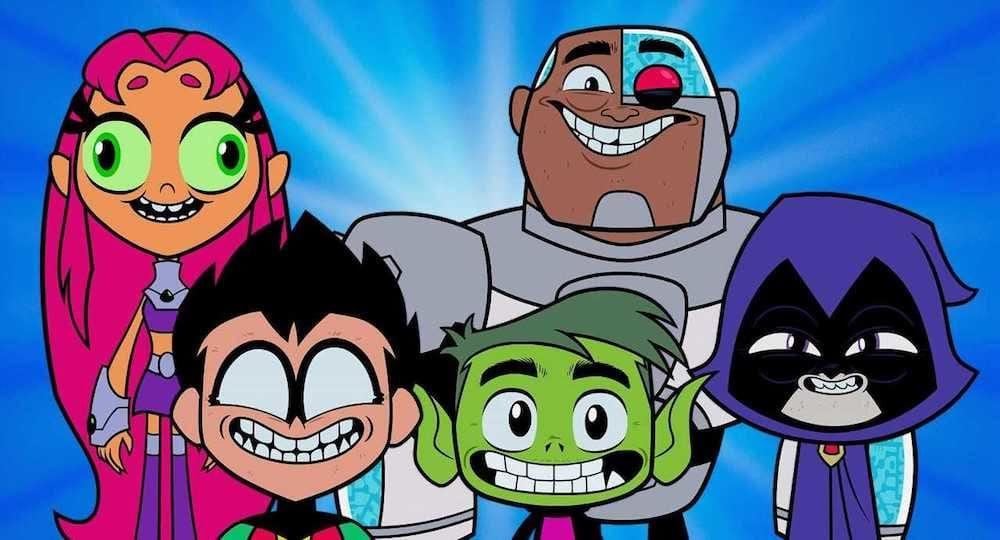 Teen Titans GO! Robin, Beast Boy, Raven, Starfire, Cyborg