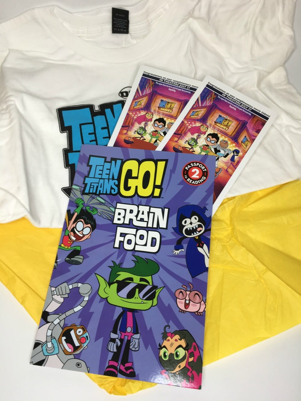 Teen Titans GO Prize Pack