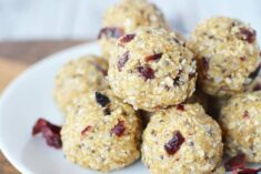 Cranberry No Bake Energy Bites Recipe
