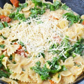 kale pasta recipe