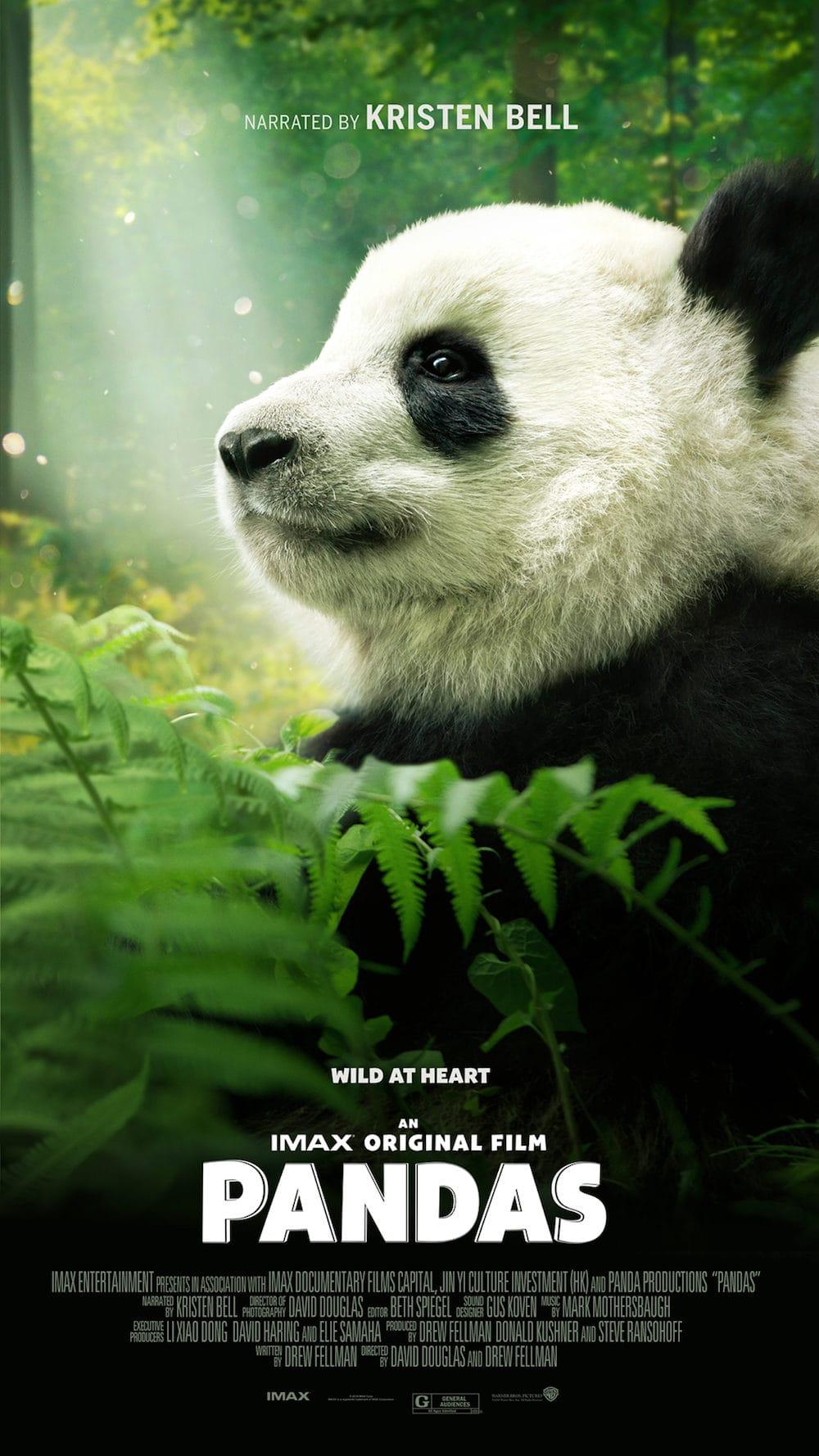 IMAX PANDAS movie poster
