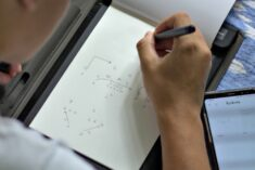 Football plays are easy to share with RoWrite, the smart writing pad